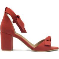Zapatos Mujer Sandalias Nae Vegan Shoes Estela Red Rojo