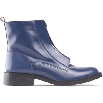 Zapatos Mujer Botines Nae Vegan Shoes Zipmeblue azul