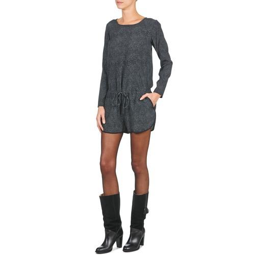 Louison Textil MonosPetos Negro Gris Petite Mendigote Mujer Ov0w8mNn