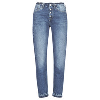 textil Mujer vaqueros rectos Pepe jeans MARY REVIVE Azul / Medium