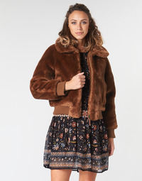 textil Mujer cazadoras Pepe jeans RACHEL Marrón