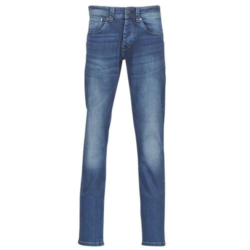 Pepe jeans CASH Gs7 / Azul / Medium - Envío gratis | ! - textil vaqueros rectos Hombre