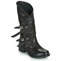 Zapatos Mujer Botas urbanas Airstep / A.S.98 ISPERIA BUCKLE Negro