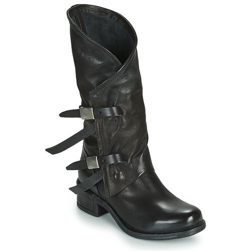 Airstep / A.S.98 ISPERIA BUCKLE Negro - Envío gratis | ! - Zapatos Botas urbanas Mujer