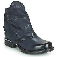 Zapatos Mujer Botas de caña baja Airstep / A.S.98 SAINT METAL Azul