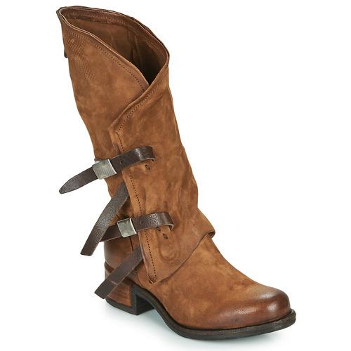 Airstep / A.S.98 ISPERIA BUCKLE Marrón - Envío gratis | ! - Zapatos Botas urbanas Mujer