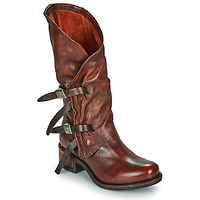 Zapatos Mujer Botas urbanas Airstep / A.S.98 ISPERIA BUCKLE Rojo