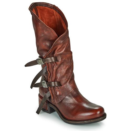 Airstep / A.S.98 ISPERIA BUCKLE Rojo - Envío gratis | ! - Zapatos Botas urbanas Mujer
