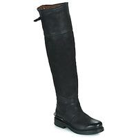 Zapatos Mujer Botas urbanas Airstep / A.S.98 BRET HIGH Negro