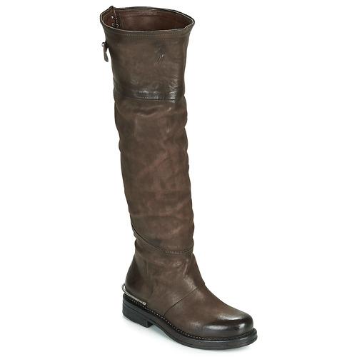Airstep / A.S.98 BRET HIGH Marrón - Envío gratis | ! - Zapatos Botas urbanas Mujer