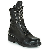 Zapatos Mujer Botas de caña baja Airstep / A.S.98 BRET METAL Negro