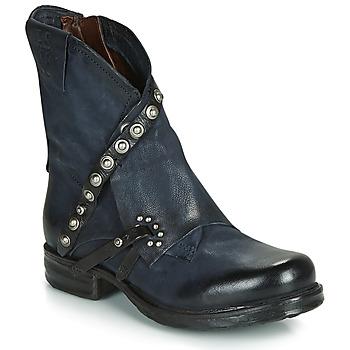 Zapatos Mujer Botas de caña baja Airstep / A.S.98 SAINT EC RIVET Azul