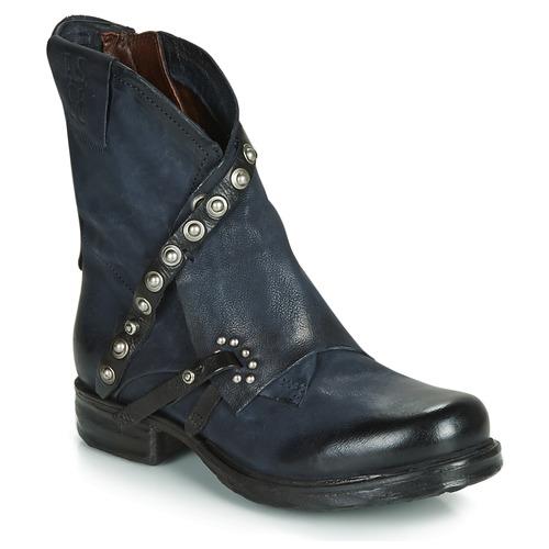 Airstep / A.S.98 SAINT EC RIVET Azul - Envío gratis | ! - Zapatos Botas de caña baja Mujer
