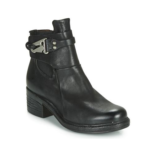 Airstep / A.S.98 NOVA 17 CHELS Negro - Envío gratis | ! - Zapatos Botas de caña baja Mujer