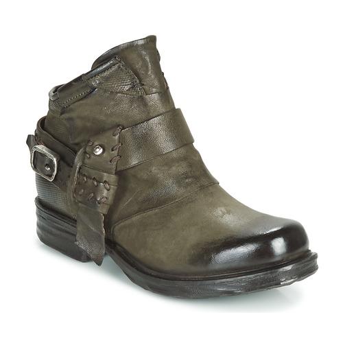 Airstep / A.S.98 SAINT EC STRAPE Kaki - Envío gratis | ! - Zapatos Botas de caña baja Mujer