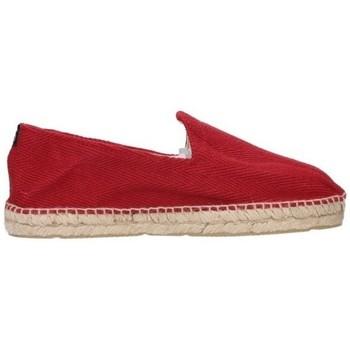 Zapatos Hombre Alpargatas Alpargatas Sesma 009 Hombre Burdeos rouge