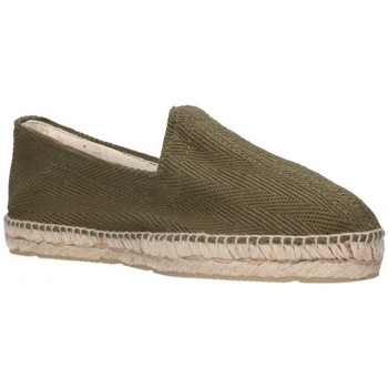 Zapatos Hombre Alpargatas Alpargatas Sesma 009 Hombre Kaki vert