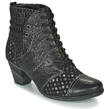 Zapatos Mujer Botines Remonte Dorndorf D8786-06 Negro