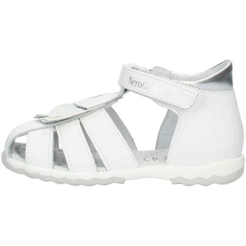 Zapatos Niña Sandalias NeroGiardini P921160F blanco