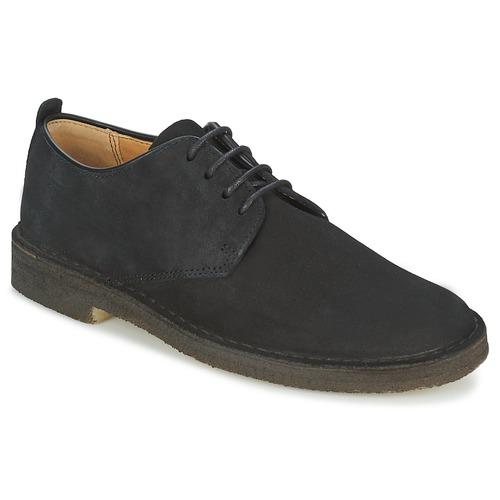 Zapatos Hombre Derbie Clarks DESERT LONDON Negro
