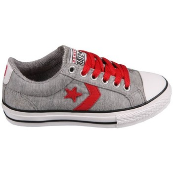 Zapatos Tenis Converse Star Player EV Grey/Red Gris