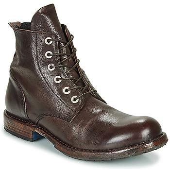 Zapatos Hombre Botas de caña baja Moma CUSNA EBANO Marrón