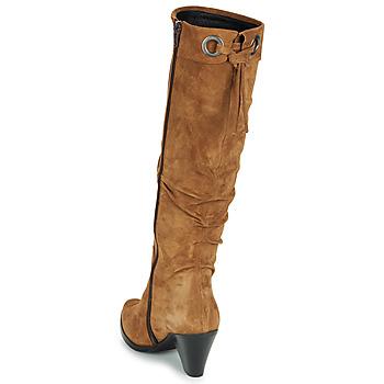 Regard RAKAFOU V2 CRTE VEL SILKY Camel - Envío gratis |  - Zapatos Botas urbanas Mujer 15120