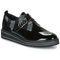 Zapatos Mujer Derbie Regard ROCSI V3 VERNIS Negro