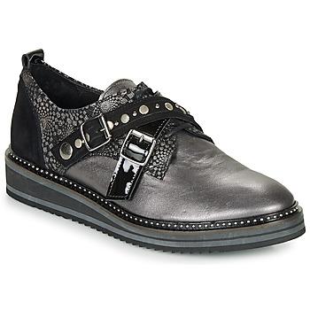Zapatos Mujer Derbie Regard ROCTALOU V1 MET Gris