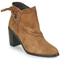 Zapatos Mujer Botines Philippe Morvan BATTLES V3 CHEV VEL Camel