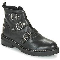 Zapatos Mujer Botas de caña baja Philippe Morvan DRAFT V1 MAIA Negro