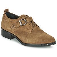Zapatos Mujer Derbie Philippe Morvan SAND V4 CRTE VEL Camel