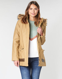 textil Mujer parkas Roxy TRAVELLING WEST Marrón