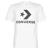 textil Hombre camisetas manga corta Converse STAR CHEVRON Blanco