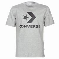 textil Hombre camisetas manga corta Converse STAR CHEVRON Gris