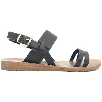 Zapatos Mujer Sandalias Chattawak sandales 7-RUBIS Noir Negro