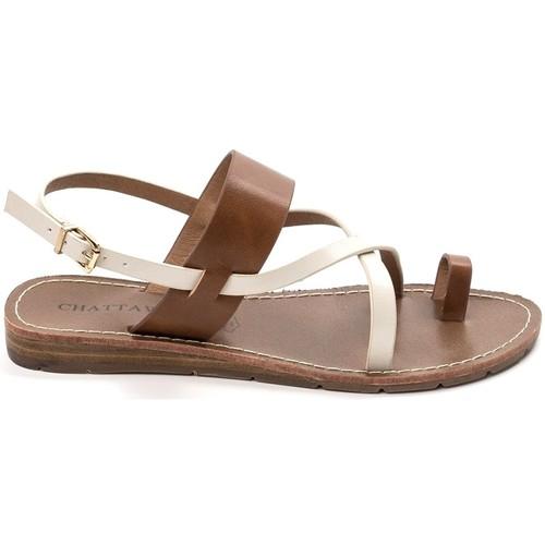 Zapatos Mujer Sandalias Chattawak sandales 7-VALERIANE Camel Marrón
