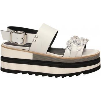 Zapatos Mujer Sandalias Laura Bellariva VITELLO CON CATENA bianco-trasparente
