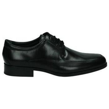 Zapatos Hombre Derbie & Richelieu Nuper Zapatos de vestir negro para hombre  4681 Noir