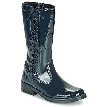 Zapatos Niña Botas urbanas Citrouille et Compagnie LOUVETTE Azul