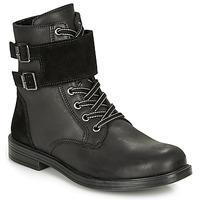 Zapatos Niña Botas de caña baja Citrouille et Compagnie LOMENE Negro
