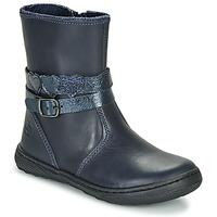 Zapatos Niña Botas de caña baja Citrouille et Compagnie LOMINE Azul
