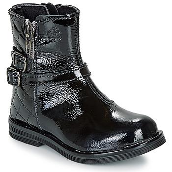Zapatos Niña Botas de caña baja Citrouille et Compagnie LIMIDOU Negro