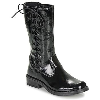 Zapatos Niña Botas urbanas Citrouille et Compagnie LAMINOTE Negro