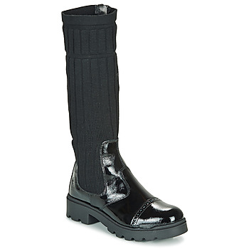 Zapatos Niña Botas de caña baja Citrouille et Compagnie LAPADOU Negro