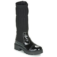 Zapatos Niña Botas urbanas Citrouille et Compagnie LAPADOU Negro