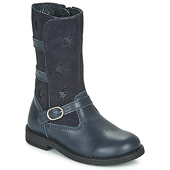 Zapatos Niña Botas urbanas Citrouille et Compagnie HANDRE Marino