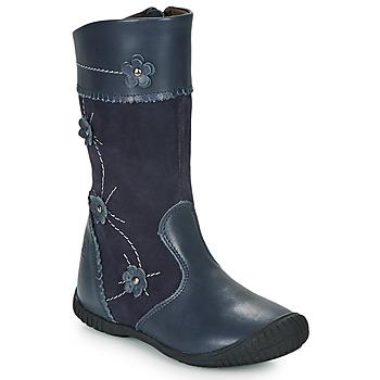 Zapatos Niña Botas urbanas Citrouille et Compagnie AMATIS Marino