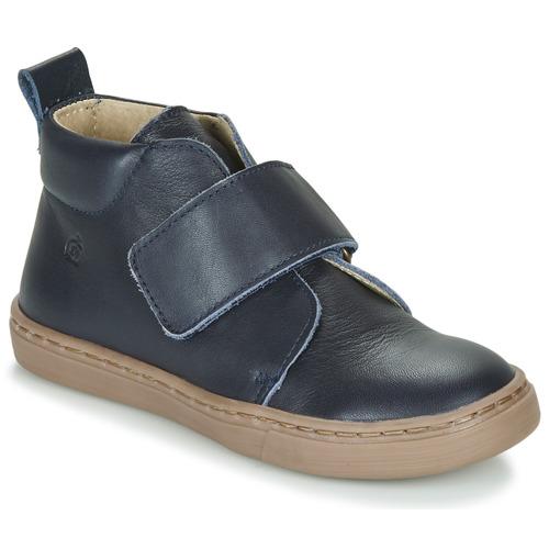 Zapatos Niño Botas de caña baja Citrouille et Compagnie FOJAMO Marino