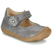 Zapatos Niña Bailarinas-manoletinas Citrouille et Compagnie LASKIMA Gris